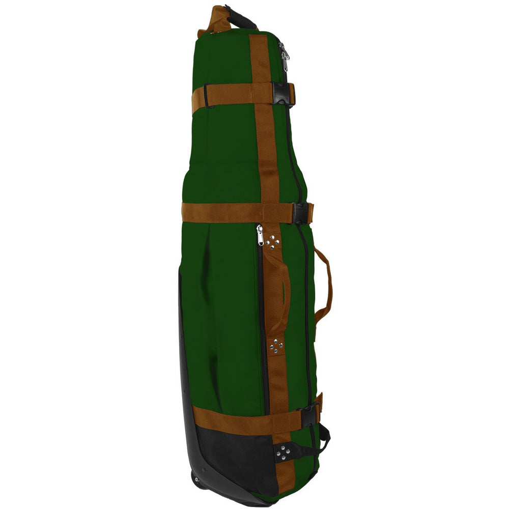 Club Glove Last Bag Collegiate Golf Travel Bag (Green-Copper)