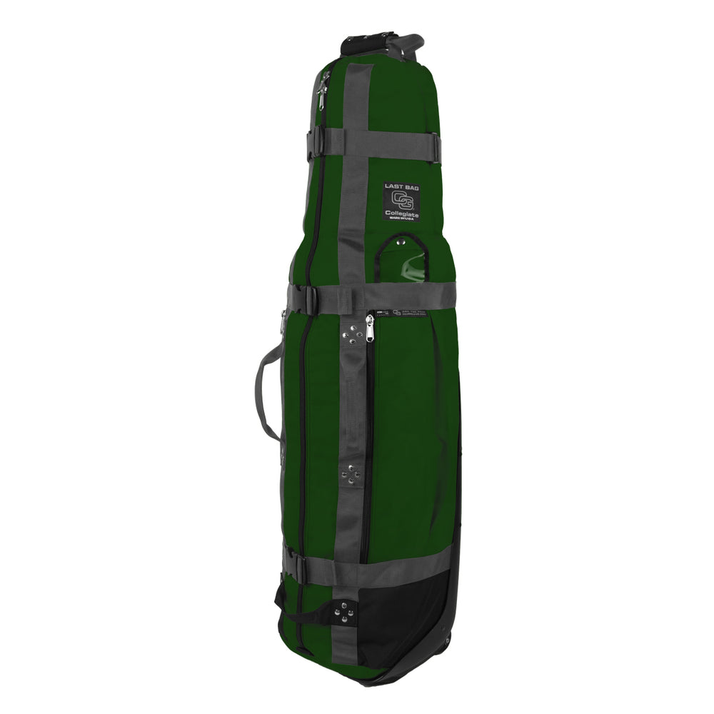 Club Glove Last Bag Collegiate Golf Travel Bag (Green-Gray)