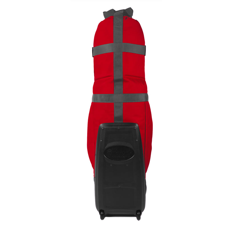 Club Glove Last Bag Collegiate Golf Travel Bag (Red-Gray)