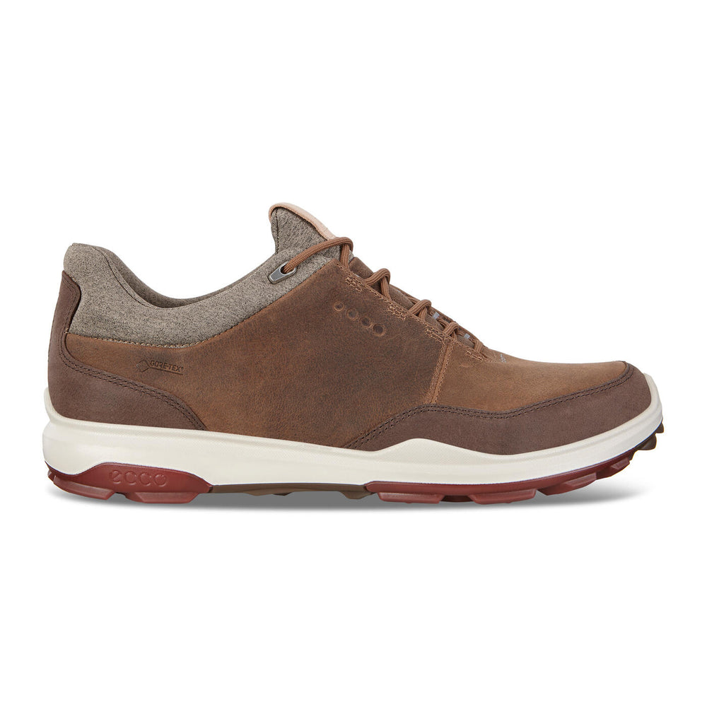 ECCO Men's BIOM Hybrid 3 GTX Golf Shoe ~ Camel