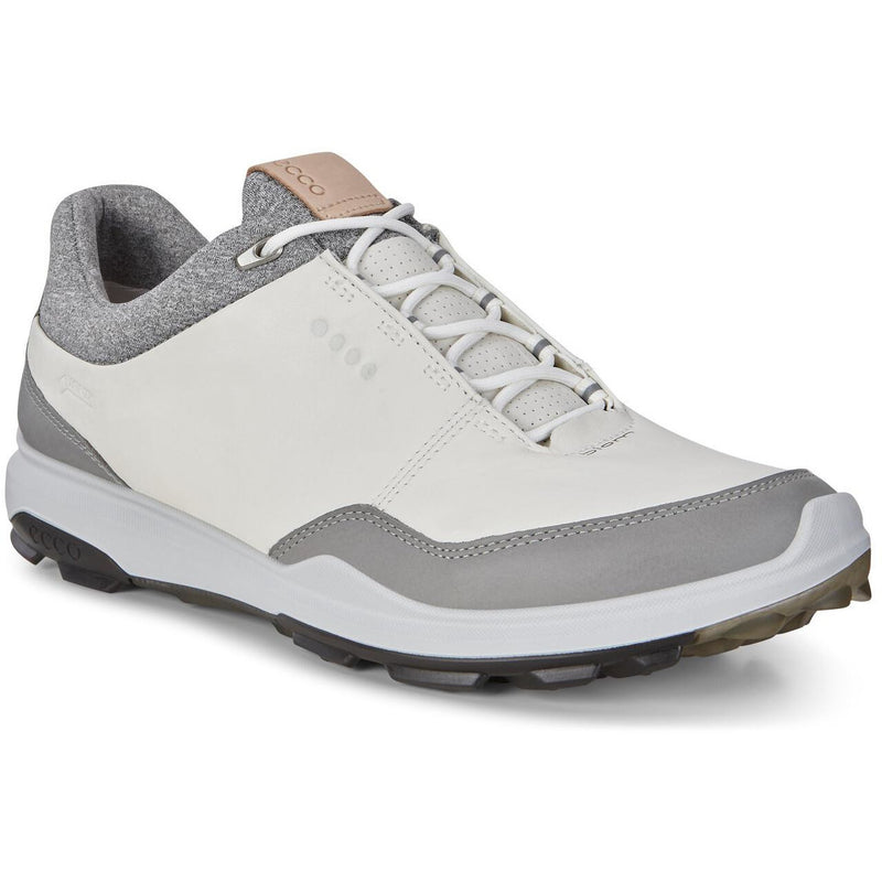 ECCO Men's BIOM Hybrid 3 GTX Golf Shoe ~ White/Black