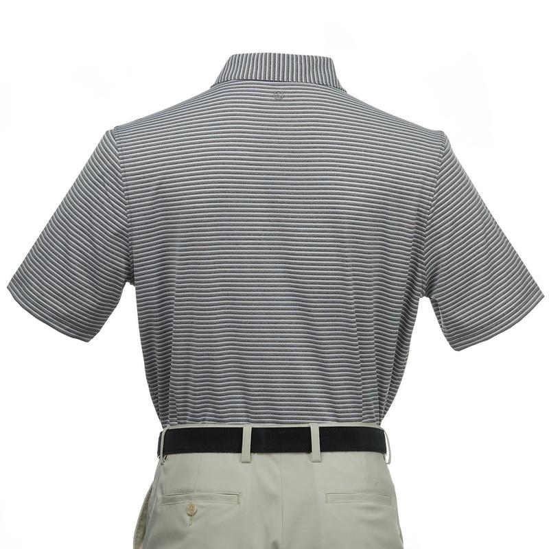 Stitch Florence Stripe Polo - Forged Gray