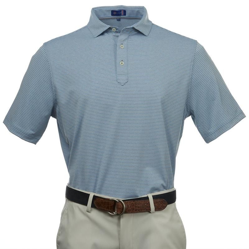 Stitch Gran Sport Polo - Bluebell