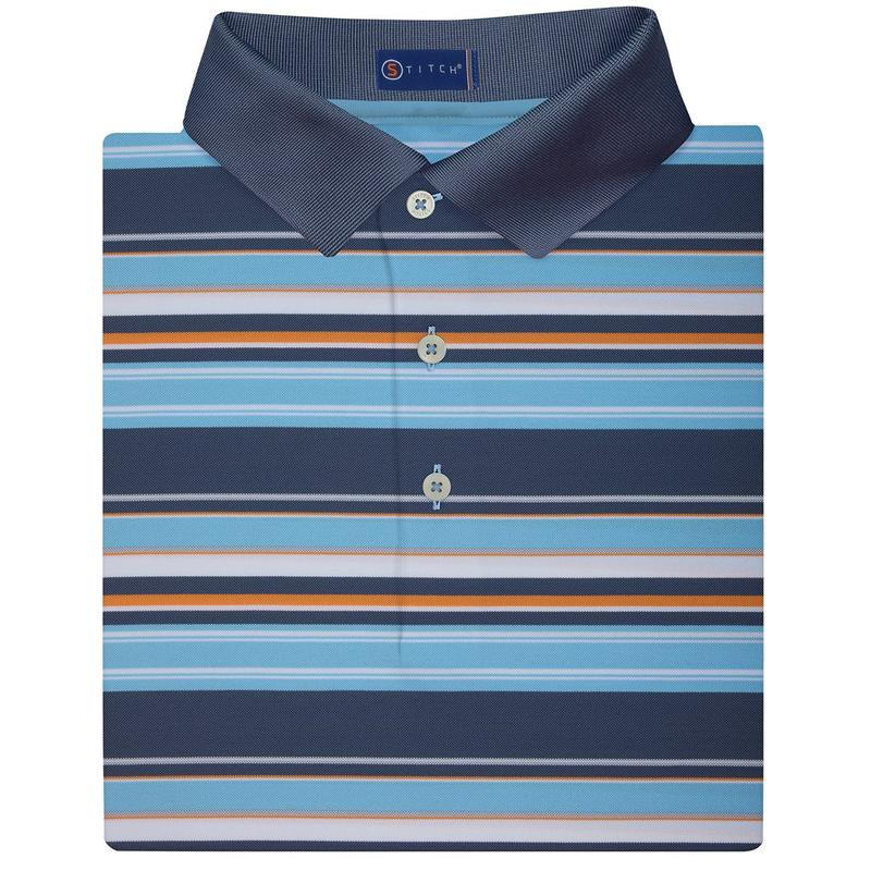 Stitch Newport Polo - Vintage Navy
