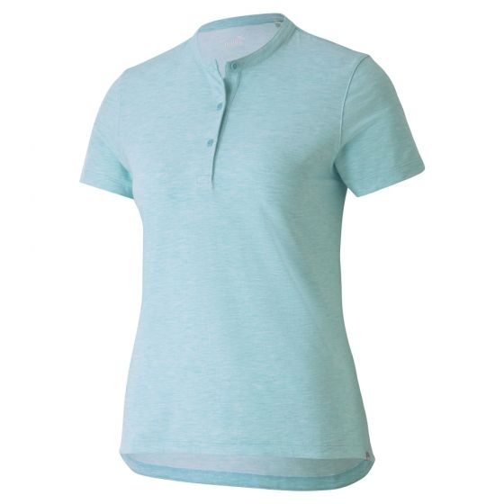 Puma Women's Essence Golf Polo ~ Milky Blue