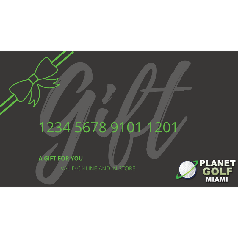 Planet Golf Miami Gift Card