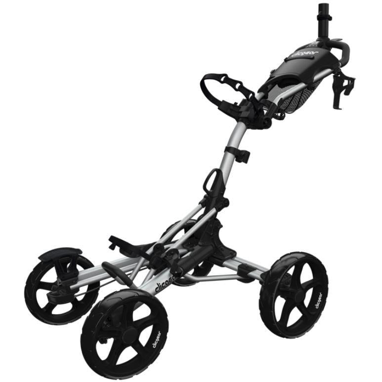 Clicgear 8.0+ Golf Push Cart ~ Silver
