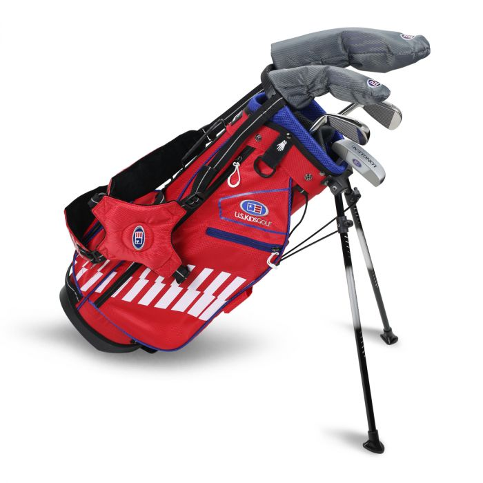 U.S. UL48-s 5 Club Stand Set ~ Red/White/Blue Bag