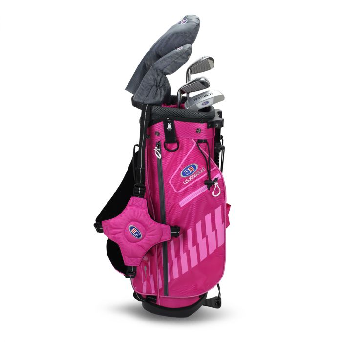 U.S. Kids UL48-s 5 Club Stand Set ~ Pink/Pink Bag