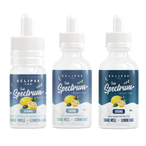 Full Spectrum CBD Tinctures with MCT Oil (Night Time)