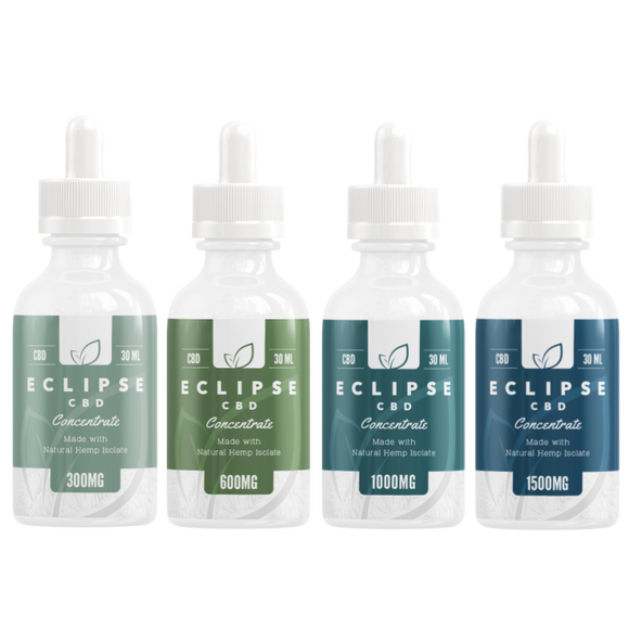 Unflavored Vapeable CBD Isolate Tinctures VG PG Base