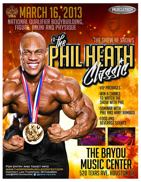 poster for the phil heath classic