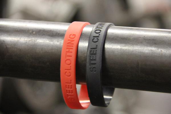 steel clothing wristbands