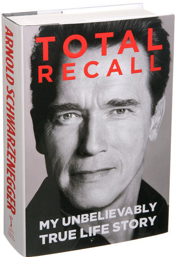 total recall book by arnold schwarzenegger
