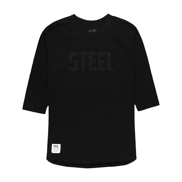BLACKOUT BASEBALL TEE