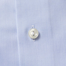 Load image into Gallery viewer, Light Blue Button-Under Twill Shirt Slim Fit