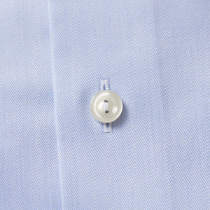 Light Blue Button-Under Twill Shirt Slim Fit