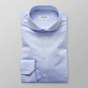 Light Blue Extreme Cut Away Shirt Slim Fit