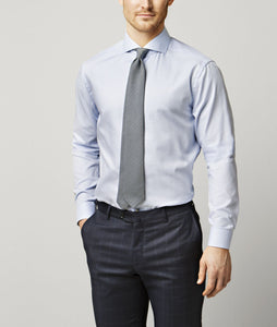 Light Blue Extreme Cut Away Shirt Super Slim Fit