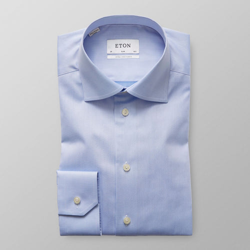 XLS Blue Twill Shirt Contemporary Fit