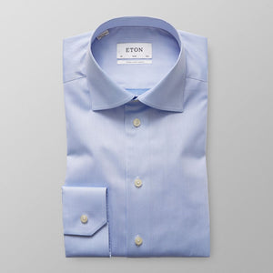 XLS Blue Twill Shirt Slim Fit