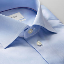 Load image into Gallery viewer, XLS Blue Twill Shirt Contemporary Fit