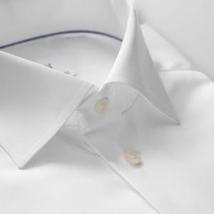White Twill Shirt Slim Fit