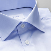 Load image into Gallery viewer, Light Blue Twill Shirt Slim Fit
