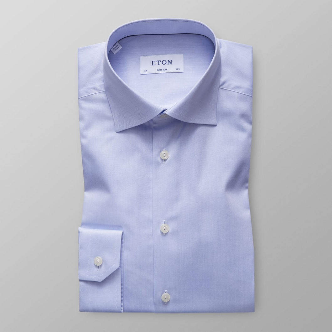 Light Blue Twill Shirt Contemporary Fit