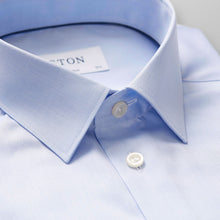 Load image into Gallery viewer, Light Blue Point Collar Shirt Super Slim Fit