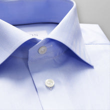 Load image into Gallery viewer, Sky Blue Herringbone Twill Shirt Slim Fit