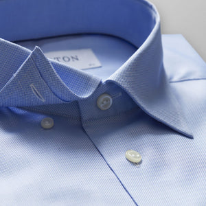 Sky Blue Button-Under Royal Oxford Shirt Contemporary Fit