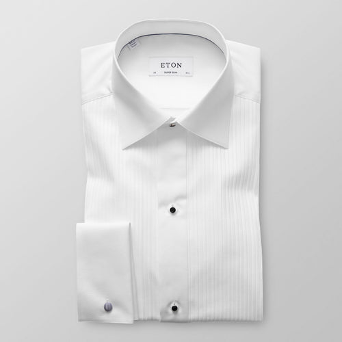 Plissé Evening Shirt Slim Fit
