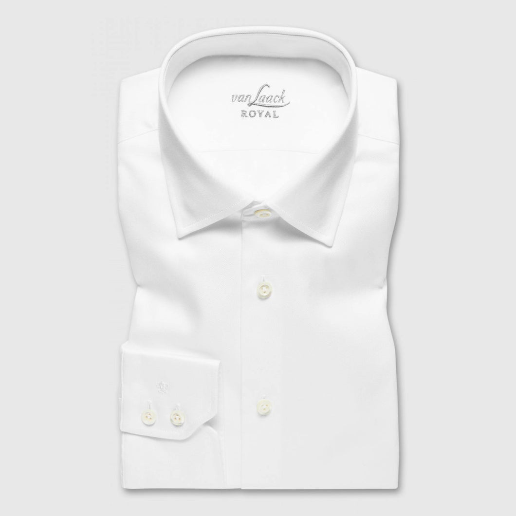 RET White Twill Tailor Fit