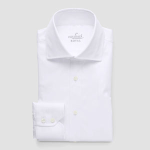 RIVARA White Stretch Slim Fit