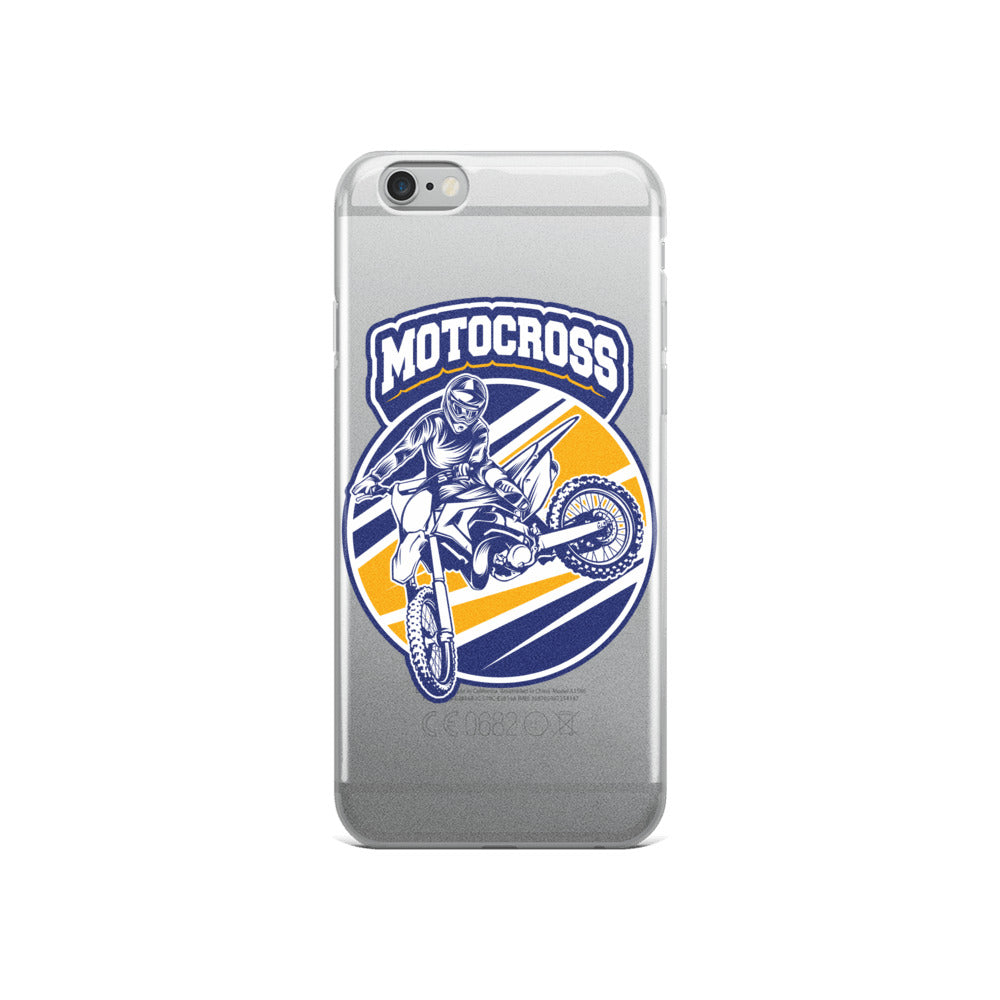 Motocross Style iPhone Case
