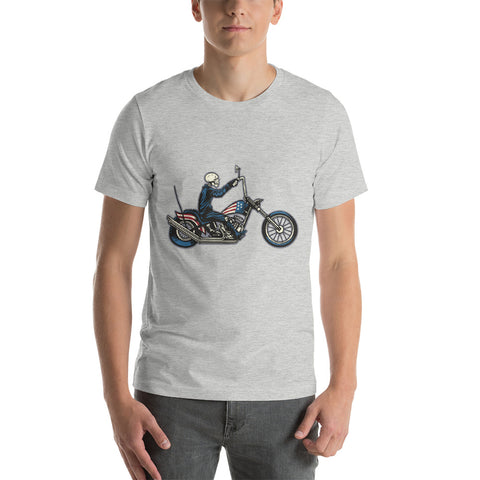 Ghost Rider USA Unisex T-Shirt