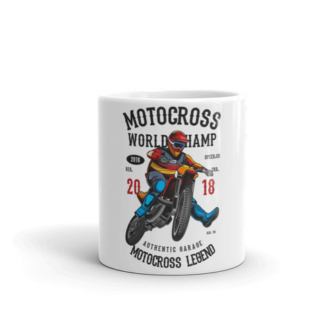 Motocross World Champ Mug
