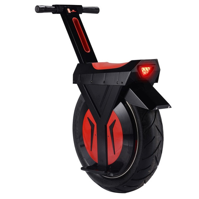 500W 7.8AH lithium battery single one wheel self balance unicycle hoverboard giroskuter scooter skateboard with LED light
