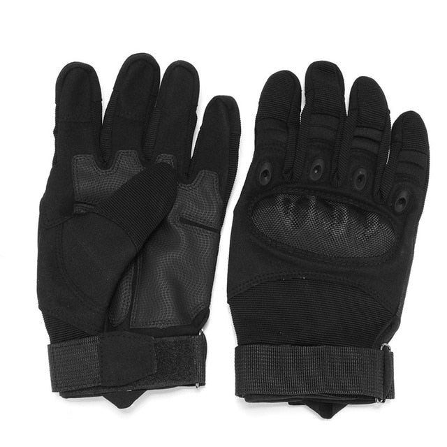 One Pair Motorcycle Gloves Full Finger Outdoor Sport Racing Motorbike Motocross Protective Breathable Glove