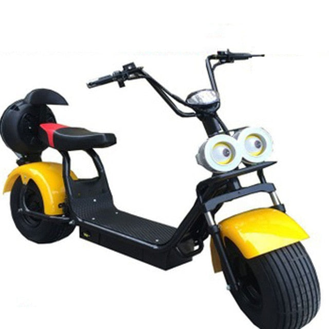 Big 2 Wheel New Harley Electric Vehicle Adult Pedal Electric Bicycle Motorcycle Scooter With Seat Mileage 40km 1500W