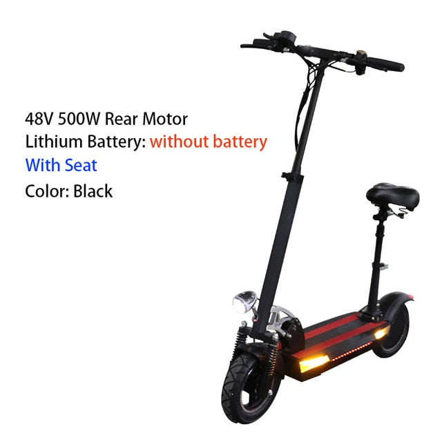 48v 500w adult electric scooter 48v 26a high powerful over 100km foldable longboard hoverboard skateboard e scooter with seat