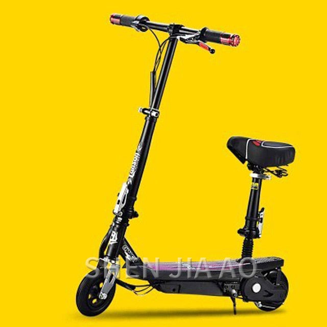 Fashion technology electric scooter / small folding electric scooter / mini / single / ultra light portable / charging scooter
