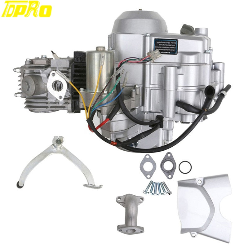TDPRO Motorcycle Buggy 125cc Engine Starter 3 + 1 Semi Auto Electrical Start Motor For 4-stroke ATV Quad Pocket Bike Motorbikes