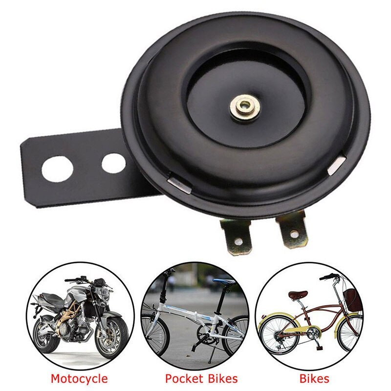 105dB 12V Motorbike Motorcycle Horn Universal Scooter Car Electric Horn Actual ATVs Car Horn Moped