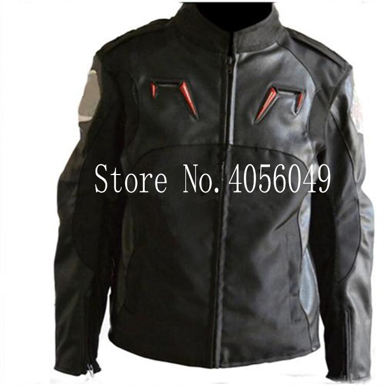 2018 Motocycle Riding Jacket Motocross PU Oxfrod Ricing A stars Jacket Protective windproof knight equipment