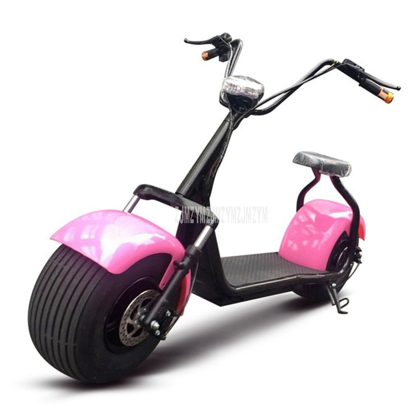 Cool Style Big 2 Wheel New Harley Electric Vehicle Adult Pedal Electric Bicycle Motorcycle Scooter With Seat Mileage 40km 1000W