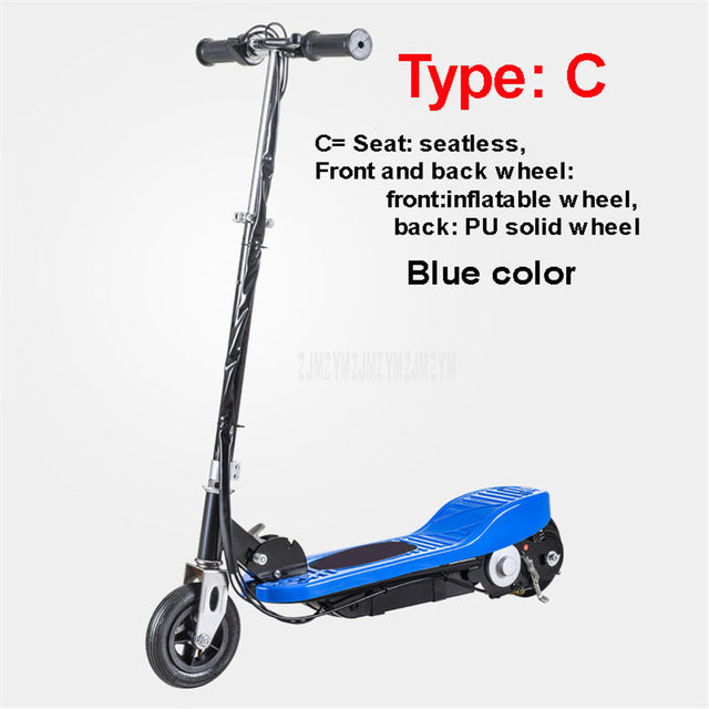 Electric Scooter Colorful Color 6 inch Wheel Easy Folding E-Scooter Electric Skateboard Bicycle for Children Child 120W Power