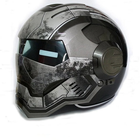 Grey IronMan Helmet