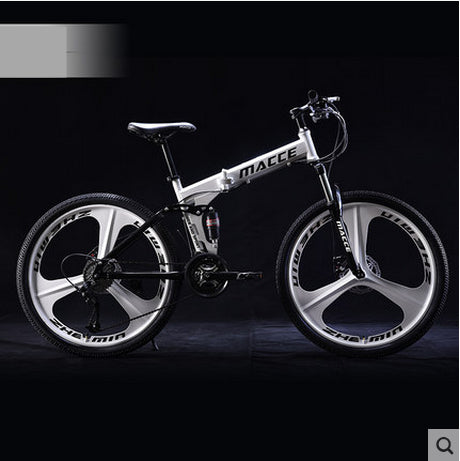 New brand 24/26 inch wheel carbon steel 21/24/27 speed mountain bike outdoor downhill BTX bicicleta disc brake folding bicycle